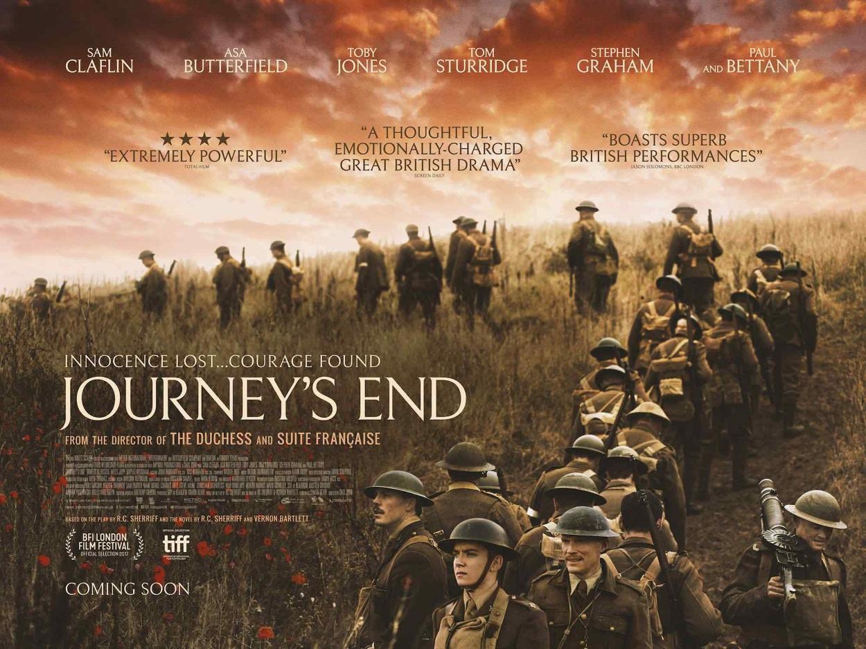 Image result for journeys end film poster landscape